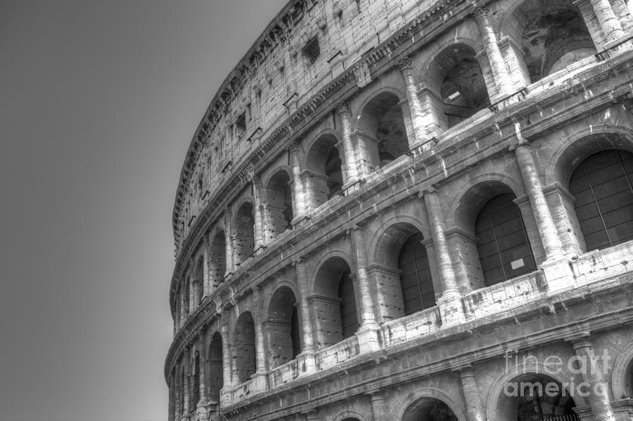 Colosseum Photograph - Colosseum  by Alex Dudley