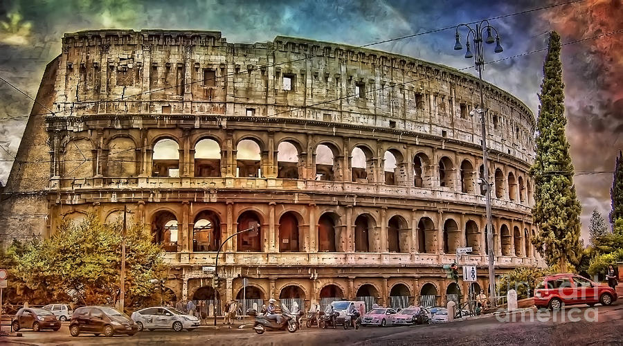 Colosseum Rome Photograph