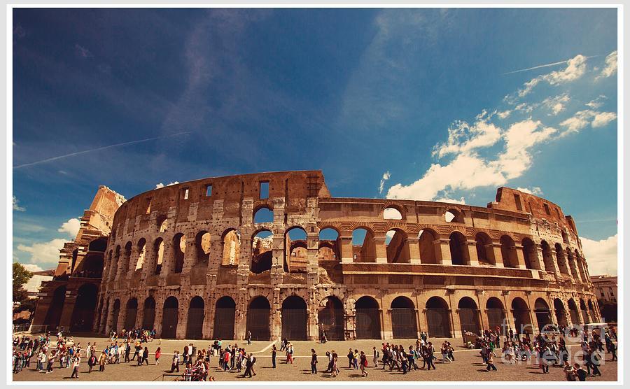 Coliseum Photograph - Colosseum Rome by Stefano Senise