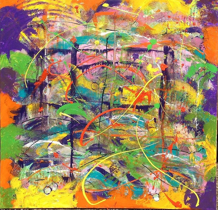 Colour Painting - Colour Bazaar by Judi Goodwin