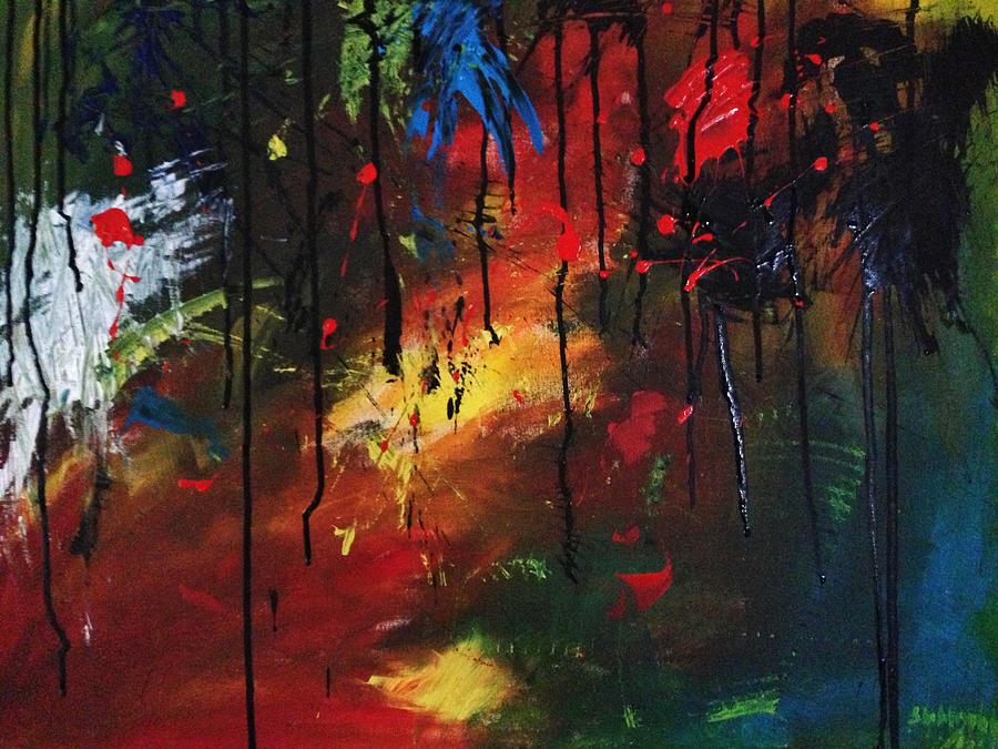 Kasana Painting - Colourful Tears by Shakhenabat Kasana