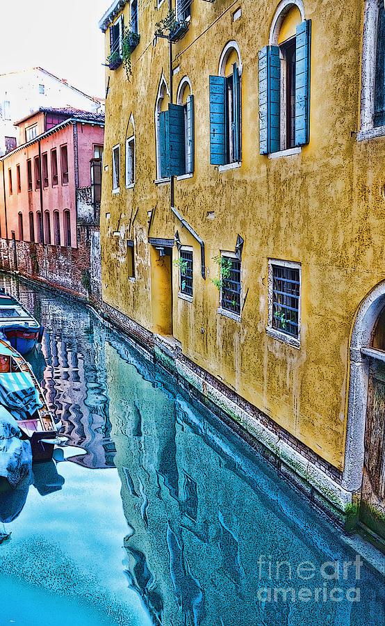 A well-worn Venice by Sheila Laurens