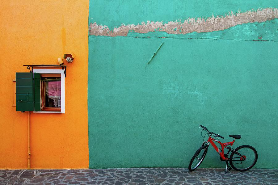 Colours Of Burano Photograph by © Karmen Smolnikar