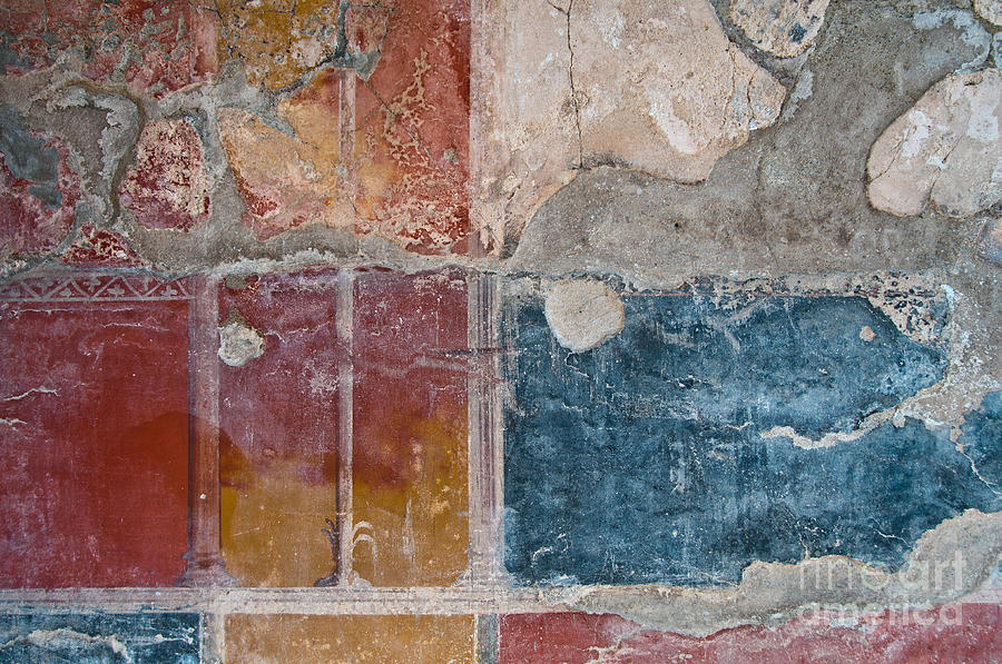 Herculaneum Photograph - Colours Of Herculaneum by Marion Galt