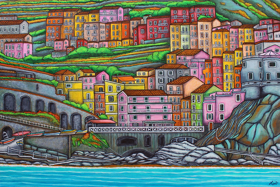 Colours of Manarola by Lisa  Lorenz