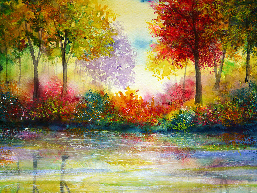 Nature Painting - Colours Of Time by Ann Marie Bone
