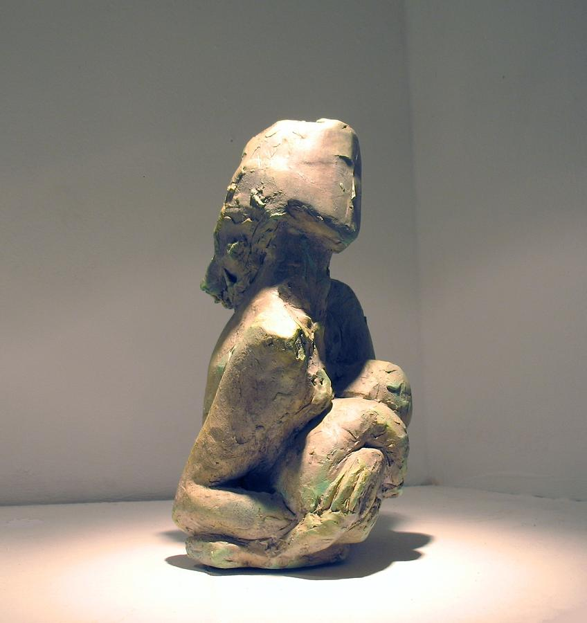 Mother And Child Photograph Sculpture - Colrine 1 by Flow Fitzgerald