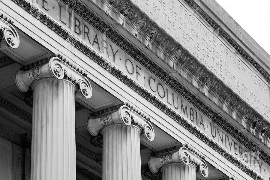 Columbia Photograph - Columbia University Low Memorial Library by University Icons