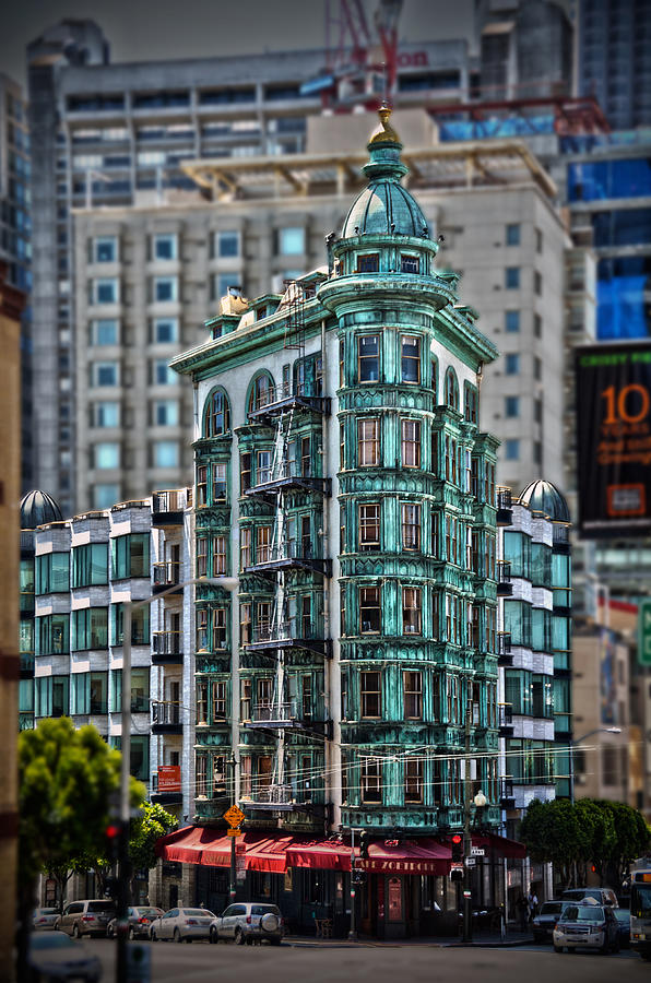 Columbus Tower Photograph - Columbus Tower In San Francisco by RicardMN Photography