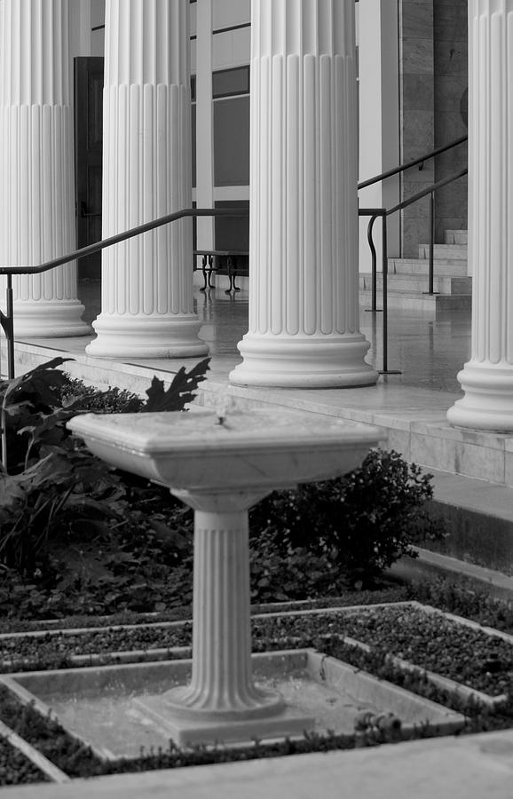 Architectural Photograph - Column Entrance by Ivete Basso Photography