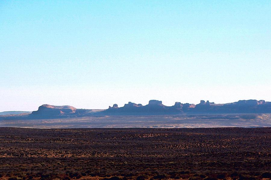 Landscape Painting - Comb Ridge by Roger Burkart