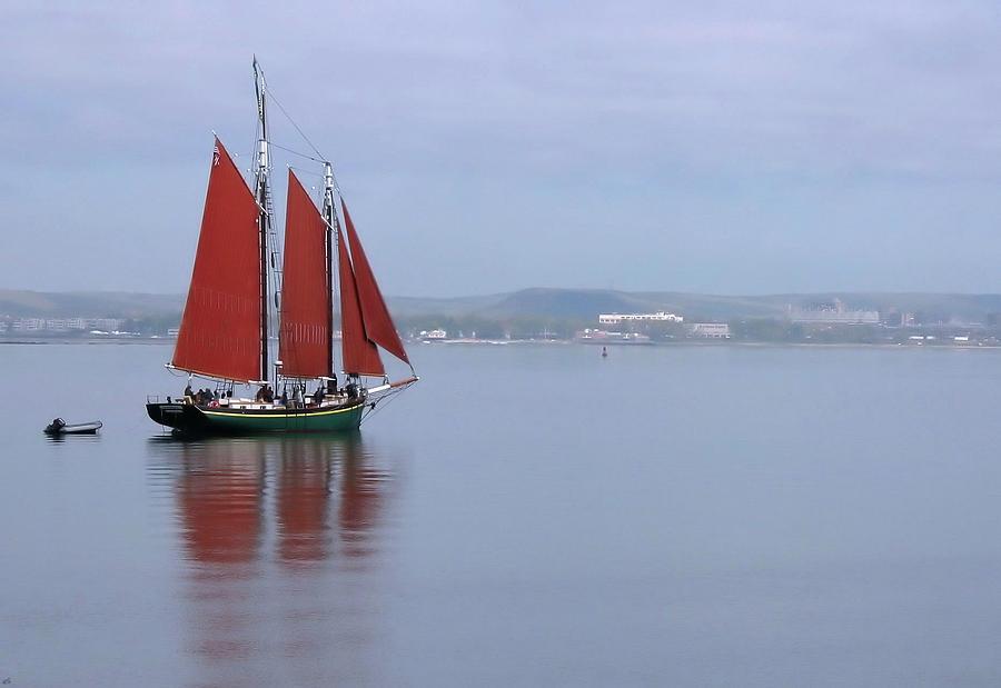 Boats Photograph - Come Sail Away by Karol Livote