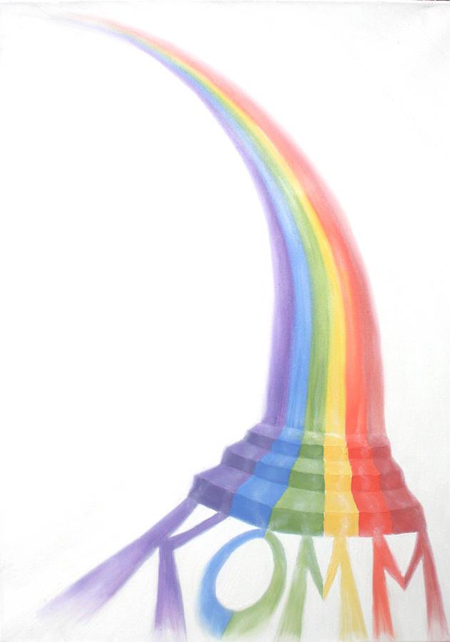 Rainbow Painting - Come by Sandra Yegiazaryan