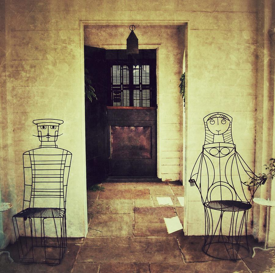 Chairs Photograph - Come Sit With Me by Jean Goodwin Brooks