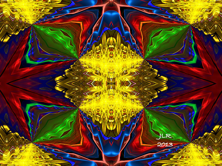 Fractal Digital Art - Come To Pass by Janet Russell