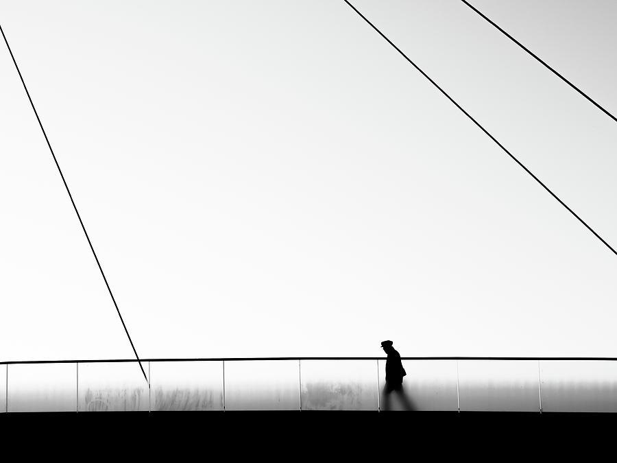 Bridge Photograph - Come To Start by Marius Surleac
