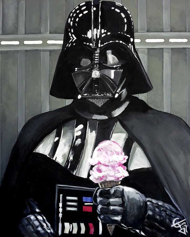 Come to the Dark Side... We Have Ice Cream. by Tom Carlton
