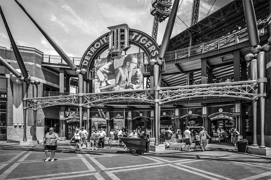 Comerica Park Detroit Photograph By Chris Smith