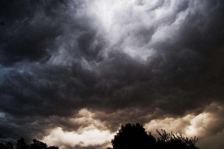 Storm Photograph - Comes the Storm by Randi Kuhne