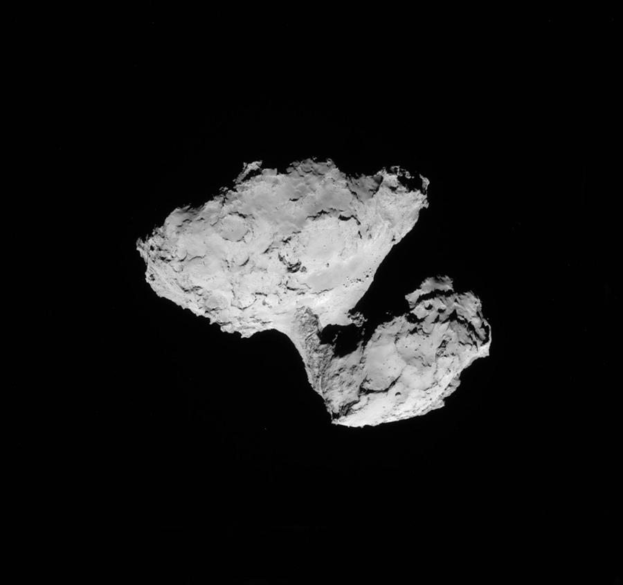 Comet Photograph - Comet Churyumov-gerasimenko by Science Source