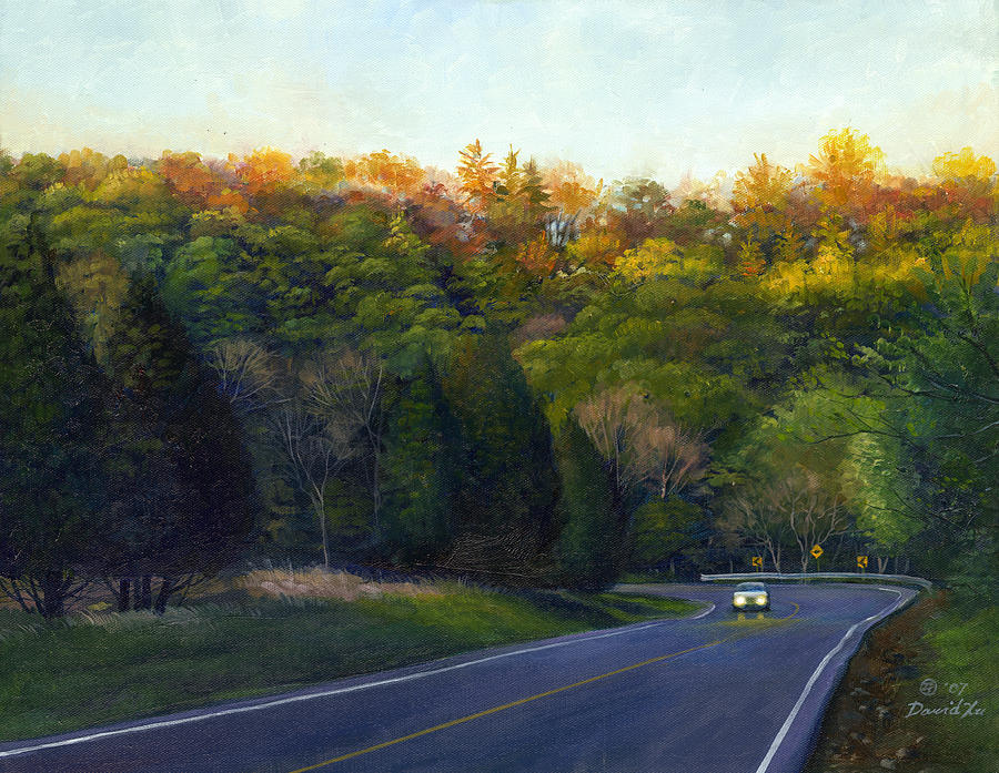 Coming Painting - Coming Home by David Xiaoping Xu