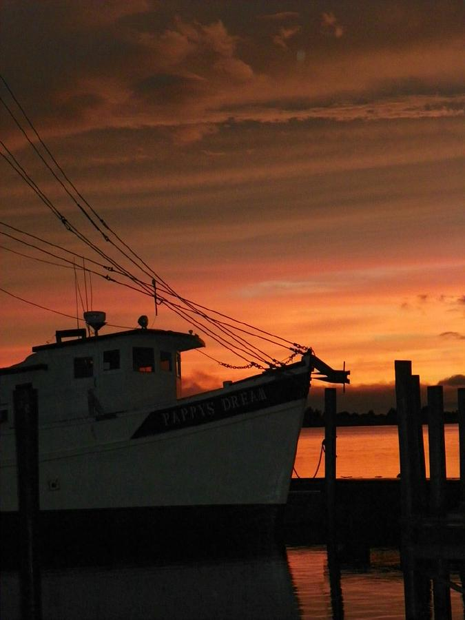 Shrimp Boat Photograph - Coming Home... by Karen Wiles