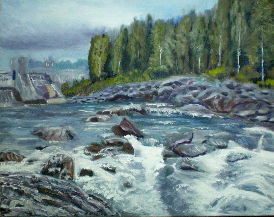 Coming Water Painting