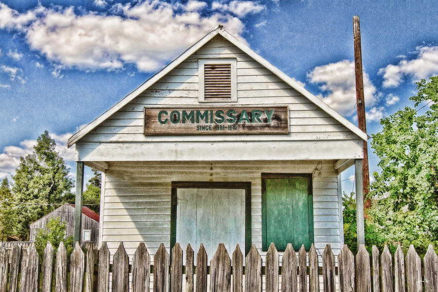 Commissary Photograph - Commissary by Scott Pellegrin