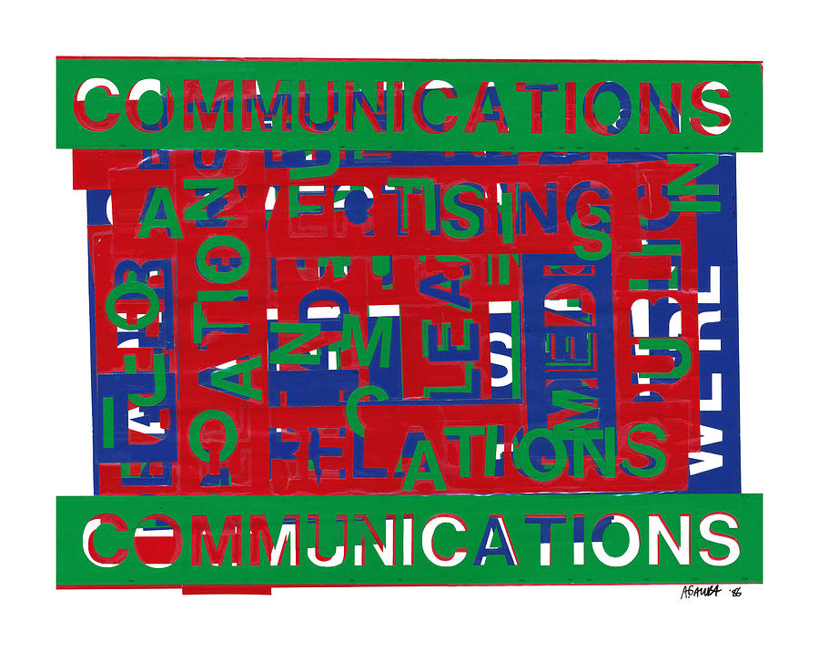 Communications Mixed Media - Communications Breakdown by Agustin Goba