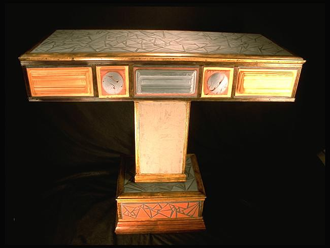 Communion Table Mixed Media by Kreg Owens