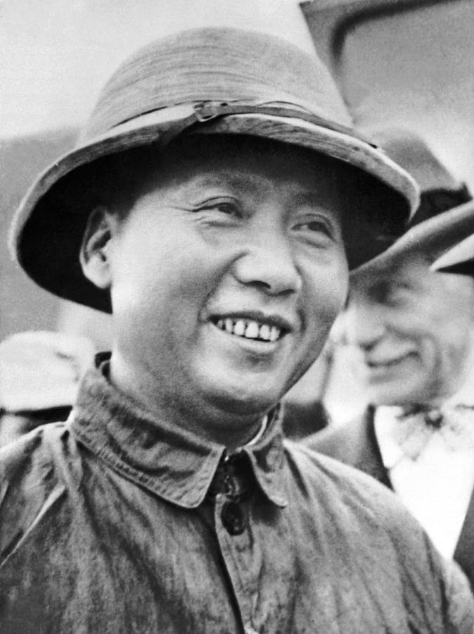 Communist Leader Mao Tse-Tung Photograph by Underwood Archives