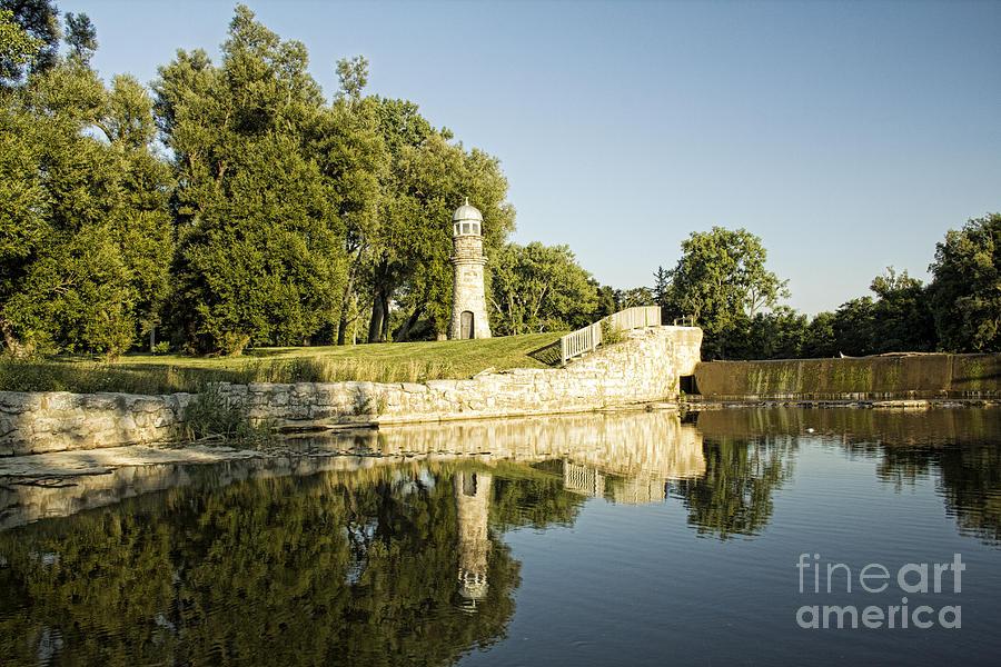 Como Lake Park Photograph - Como Lake Park by Jim Lepard