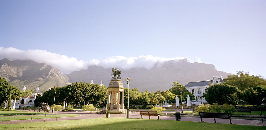 Cape Town Photograph - Company Gardens by Shaun Higson