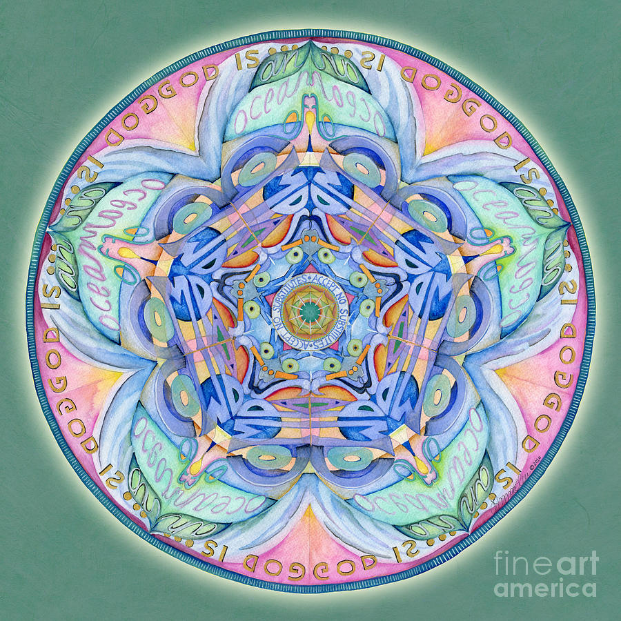 Compassion Mandala by Jo Thomas Blaine