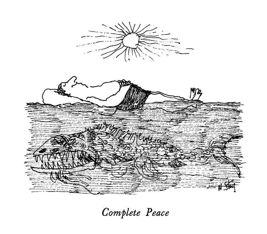 Complete Peace Drawing by William Steig