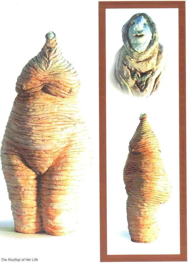 Ceramic Sculpture - Completion by Satya Winkelman