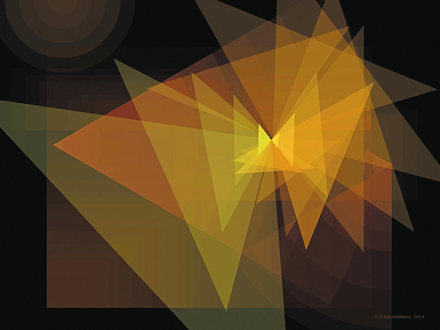 Tablet Digital Art - Composition 28 by Terry Reynoldson