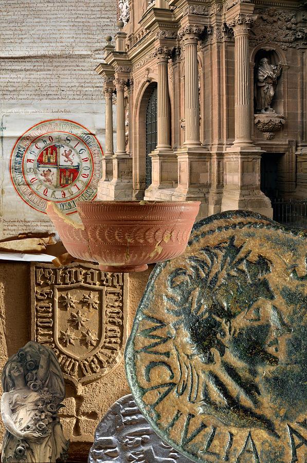Calahorra Photograph - Composition For Poster Xiv Jornadas De Estudios Calagurritanos by RicardMN Photography