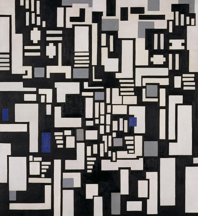 Abstract Painting - Composition Ix by Theo Van Doesburg