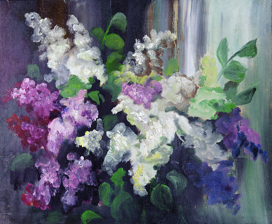 Composition Of Lilac Digital Art by Balticboy