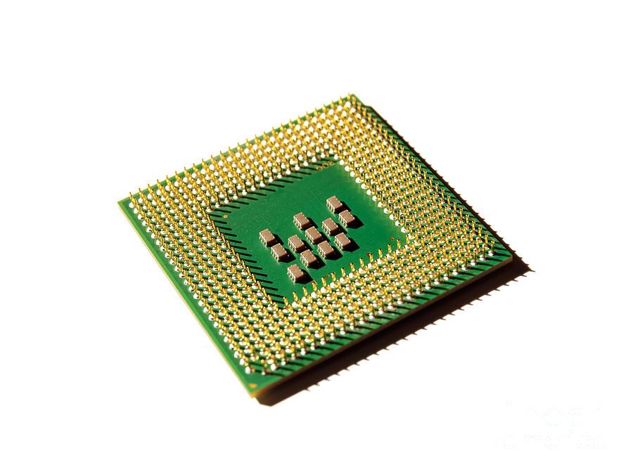 Computer Photograph - Computer Processor by Sinisa Botas