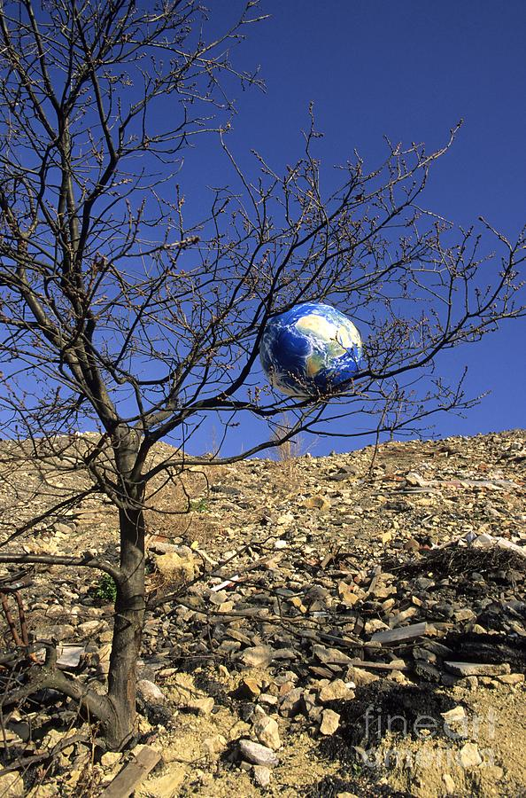 Concept Photograph - Concept Pollution by Bernard Jaubert