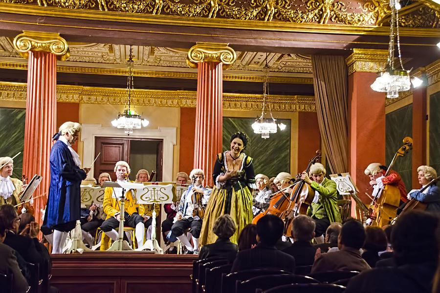 Gesellschaft Der Musikfreunde Photograph - Concert In Vienna by Jon Berghoff