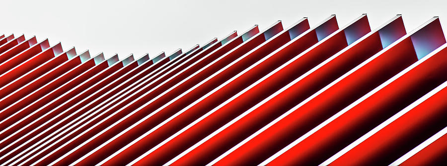 Architecture Photograph - Concertina Wall II by Gilbert Claes