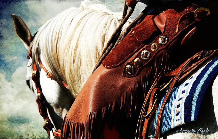 Cowboy Photograph - Conchos by Karen Slagle