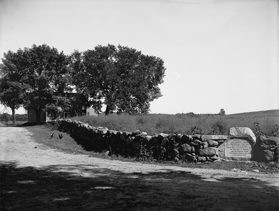 1775 Photograph - Concord: Meriams Corner by Granger