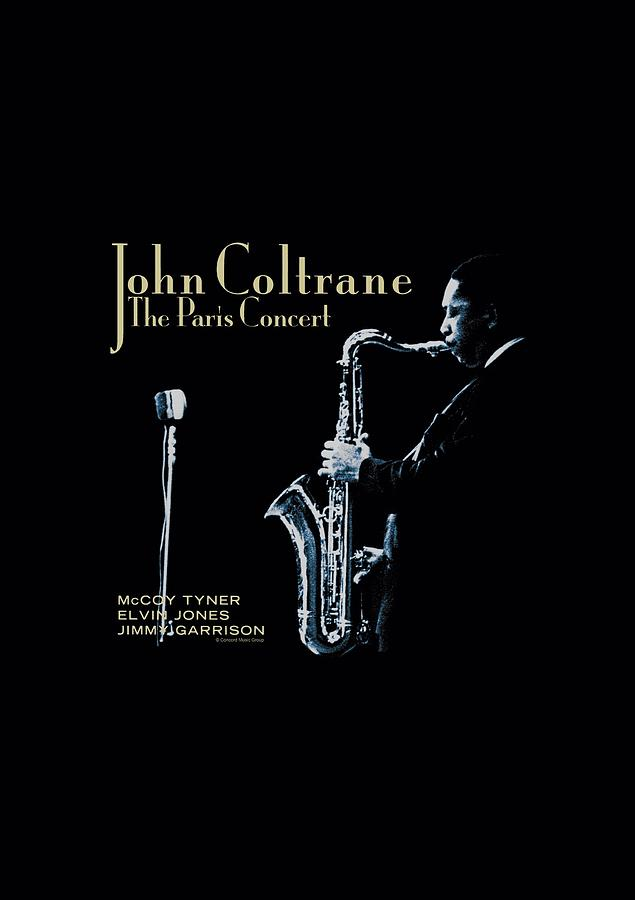 John Coltrane Digital Art - Concord Music - Paris Coltrane by Brand A