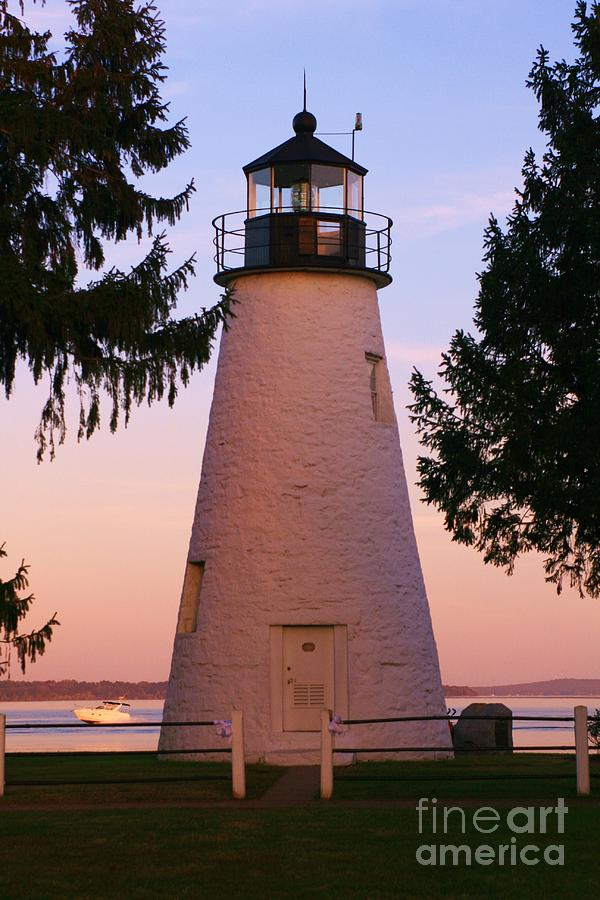 Concord Point Lighthouse Photograph - Concord Point Lighthouse by Mark  Wall