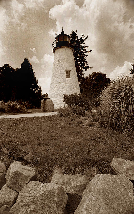 Lighthouse Photograph - Concord Point Lighthouse by Skip Willits