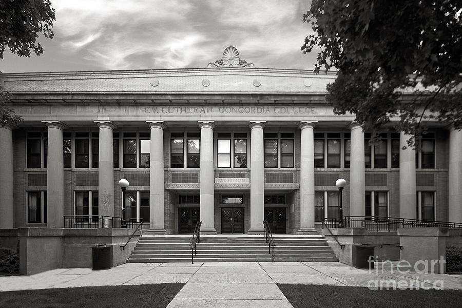 Chicago Photograph - Concordia University Chicago Addison Hall by University Icons